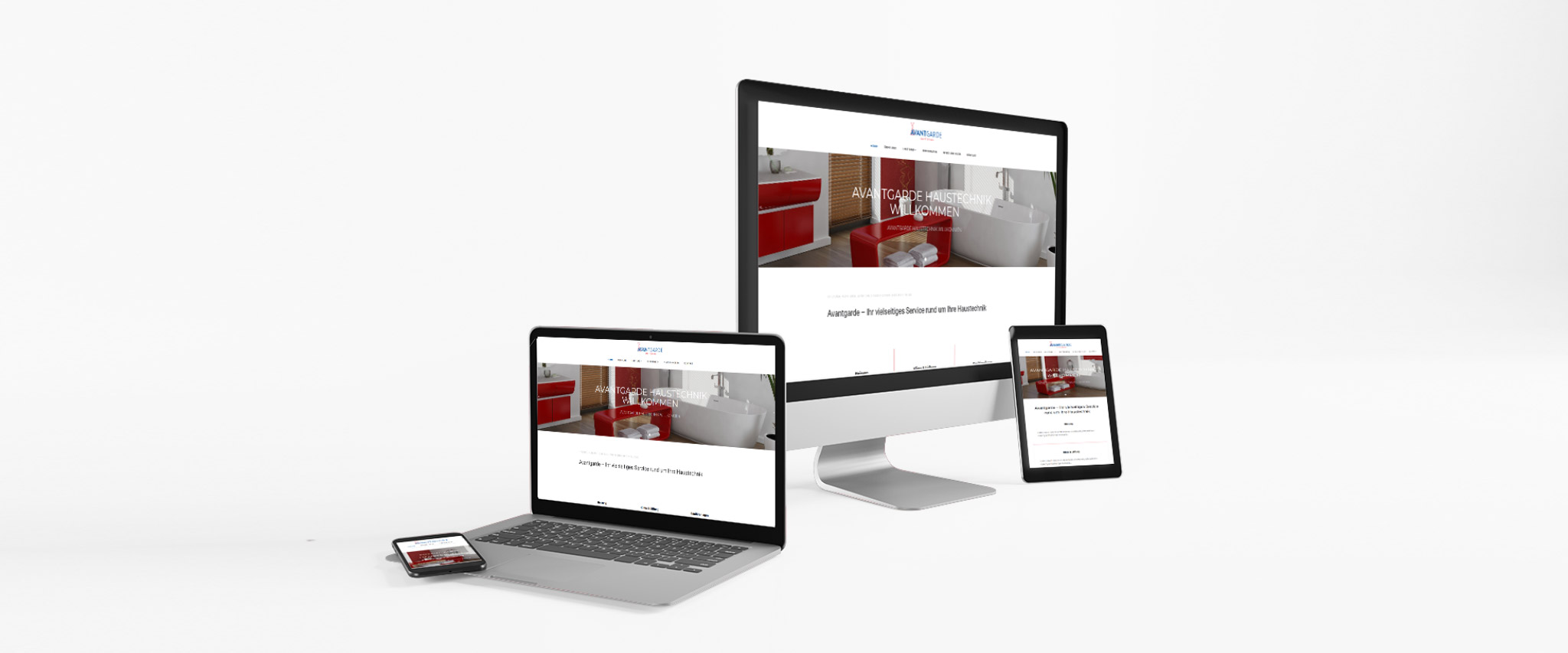Unsere Webseite ist online! | avantgarde-haustechnik.at