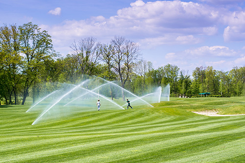 Bewässerungsanlage Sportanlagen