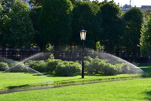 Bewässerungsanlage Park