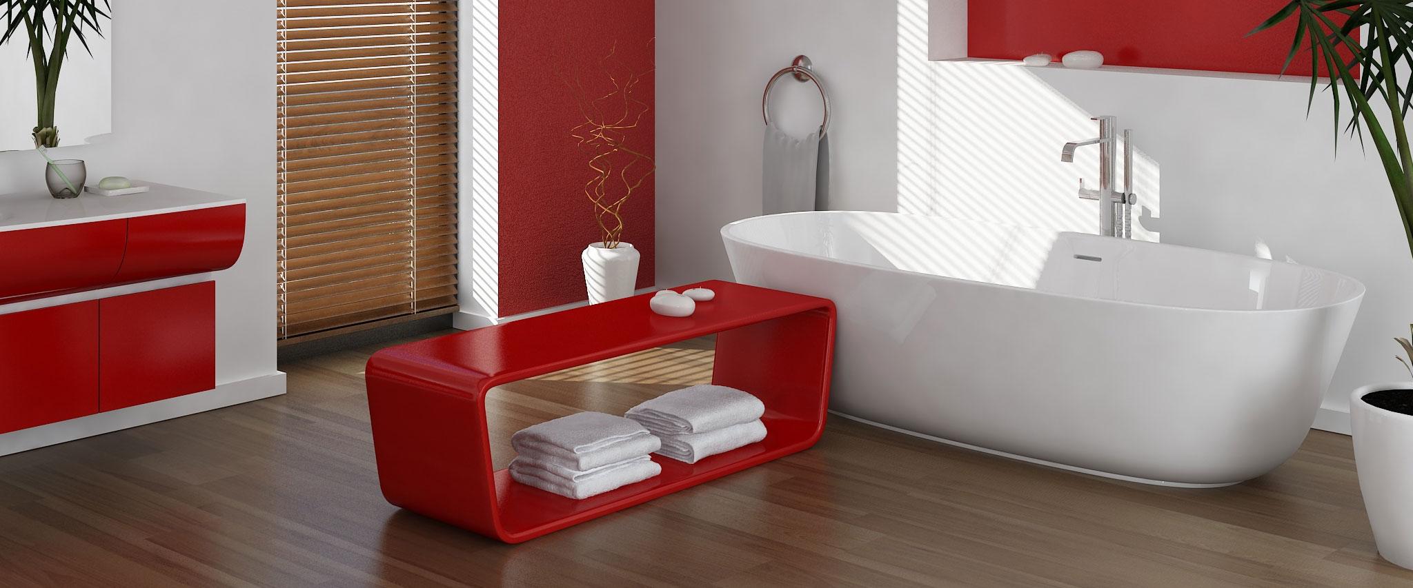 Badezimmer in Wohnhausanlage